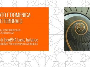 Corso di GeoBRA basic balance: 15-16 febbraio 2014