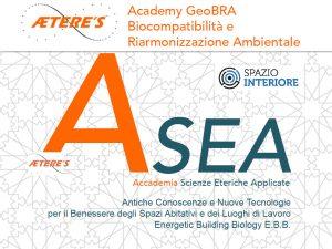 GeoBRA il  corso di Bio-compatibilità e Riarmonizzazione energetica Ambientale organizzato da Asea – Aetere's Academy