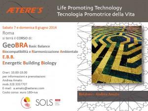 GeoBRA Basic Balance – 7 e 8 giugno Roma