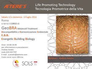 GeoBRA Advanced Treatment – 12 e 13 luglio Roma
