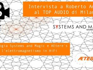 TOP AUDIO 2012: Roberto Amato filtri di rete e elettromagnetismo in hifi