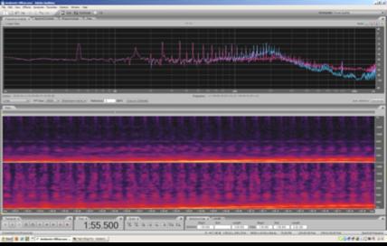Notare come ogni singola semionda porti con sé rumori e disturbi che non terminano all'interno dei 14Khz del limite dell'acquisizione strumentale, ma che con ogni probabilità si estendono molto oltre questo limite. Sul cablaggio di rete interno ad abitazioni/uffici, possono viaggiare frequenze fino a circa 30Mhz, oltre 2000 volte maggiori della frequenza massima qui visibile!