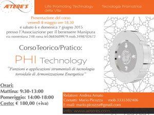 Corso PHI Technology